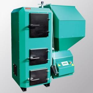 Новейшая разработка 2009года компании GRANDEG котлы серии GD-BIO для работы на древесных гранулах и дровах мощностью от 5 до 40 кВт